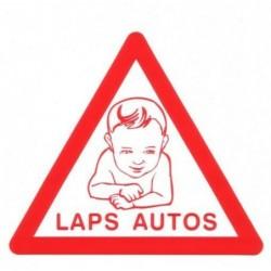 Laps autos, kleebis...