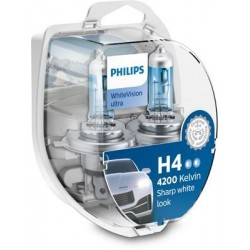 Philips H4 WhiteVision Ultra